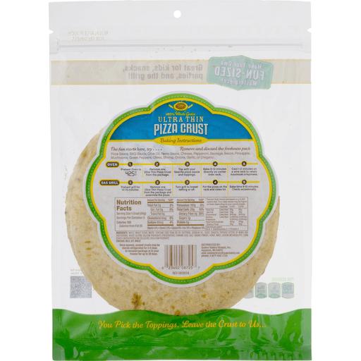 Golden Home Ultra Thin Pizza Crust 100% Whole Grain - 5 CT