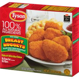 Tyson Breast Nuggets   Market Basket