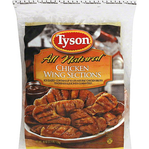 Tyson® Chicken Wing Sections, 2.5 lb