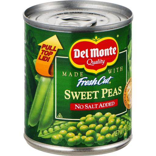 Del Monte Fresh Cut Sweet Peas No Salt Added