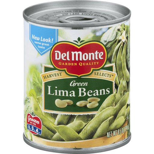 Del Monte Harvest Selects Lima Beans, Green