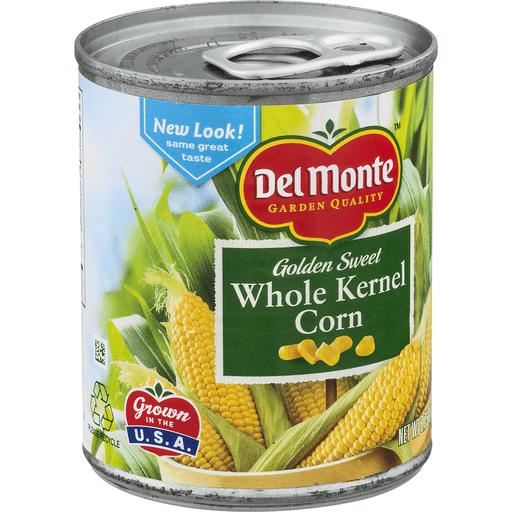 Del Monte Corn, Golden Sweet, Whole Kernel