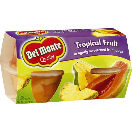 Del Monte Tropical Fruit Papaya & Pineapple in Lightly Sweetened Juice