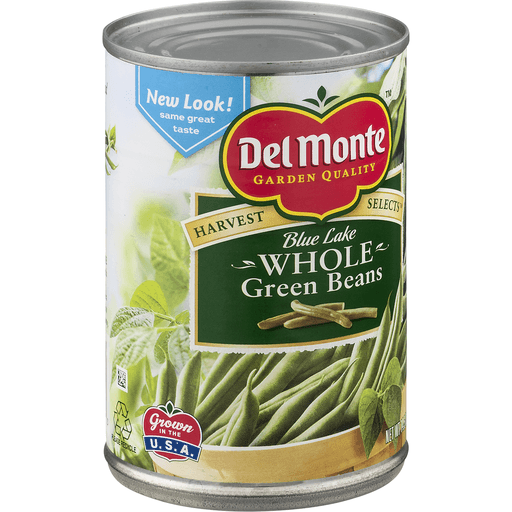 Del Monte Harvest Selects Green Beans, Whole, Blue Lake