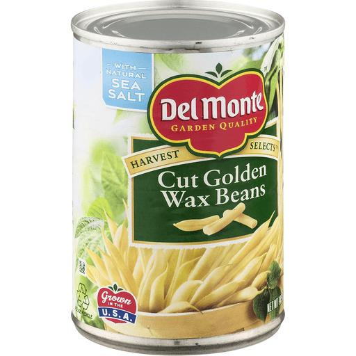 Del Monte Harvest Selects Wax Beans, Cut Golden