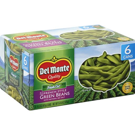Del Monte Fresh Cut Green Beans, Blue