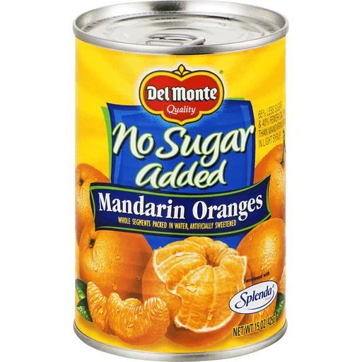 Del Monte Mandarin Oranges, No Sugar Added