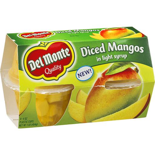 Del Monte Mangos, Diced