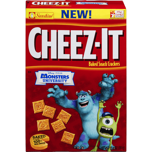Cheez It Baked Snack Crackers, Marvel Avengers Age of Ultron