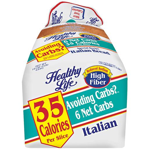 Healthy Life® Special Recipe Italian Bread 16 oz. Bag