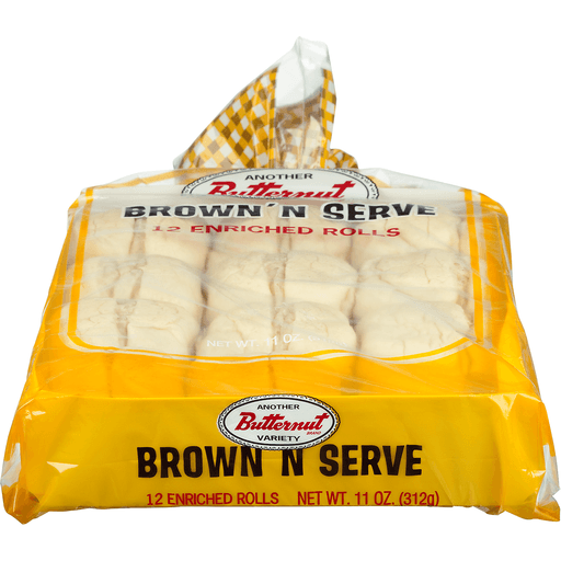 Butternut Brown 'N Serve Rolls - 12 CT