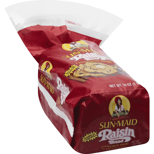 Sun Maid Raisin Bread Cinnamon Swirl 16 Oz Pack Sweet Bread Sendik S Food Market