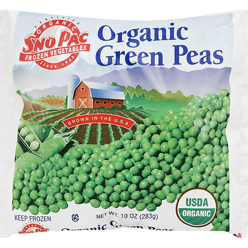 Sno Pac Green Peas, Organic