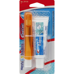 Handy Solutions Oral-Care Toothbrush Toothpaste Travel Kit