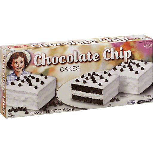 Little Debbie Cakes, Chocolate Chip