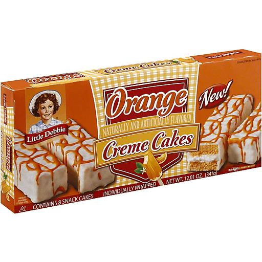 Little Debbie Creme Cakes, Orange