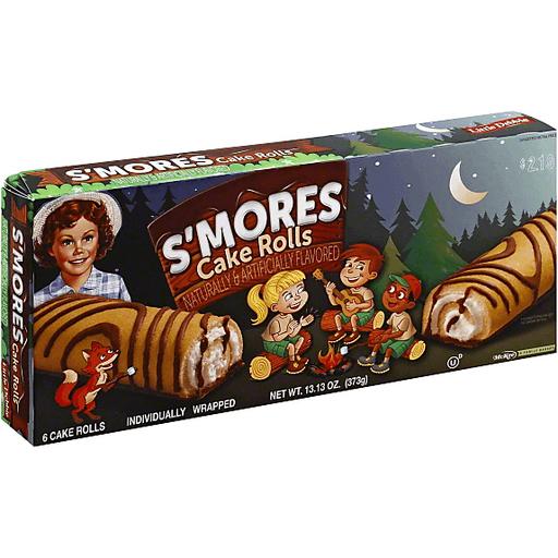 Little Debbie Cake Rolls, S'mores