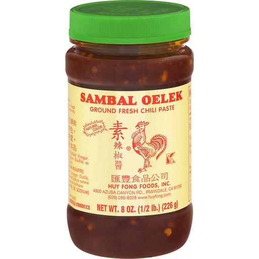 Huy Fong Fresh Chili Paste - Sambal - 8 oz.