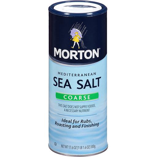Morton Mediterranean Sea Salt Coarse