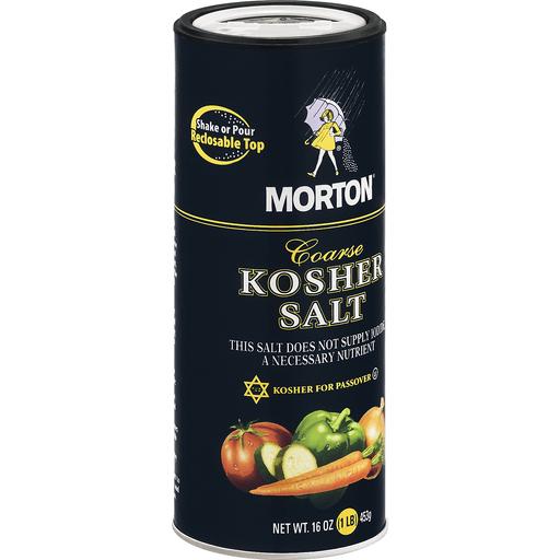 Morton Salt, Kosher, Coarse