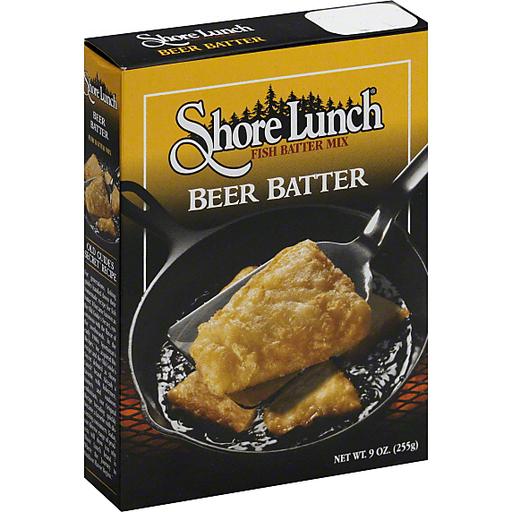 Shore Lunch Fish Batter Mix Beer Batter
