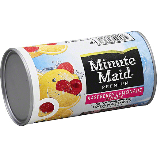 Minute Maid Raspberry Lemonade Beverage, Frozen Concentrated