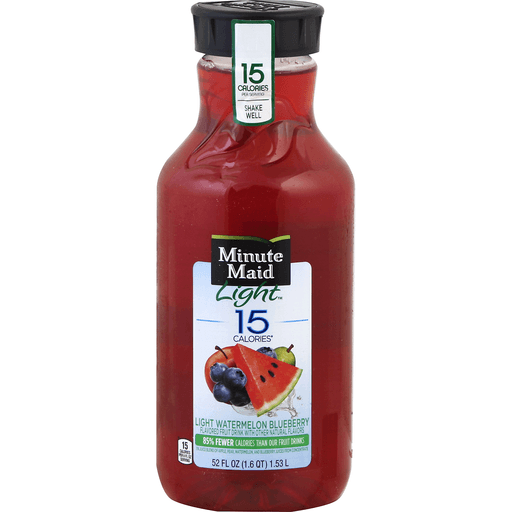 Minute Maid Light Fruit Drink, Watermelon Blueberry