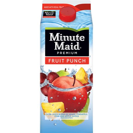 Minute Maid Premium Fruit Punch   Green