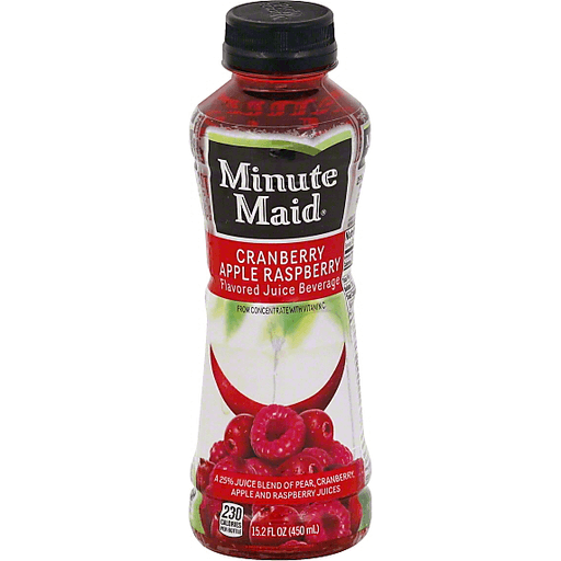 Minute Maid Juice Beverage, Cranberry Apple Raspberry Flavored