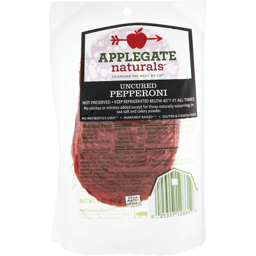 Applegate Naturals Pepperoni, Uncured