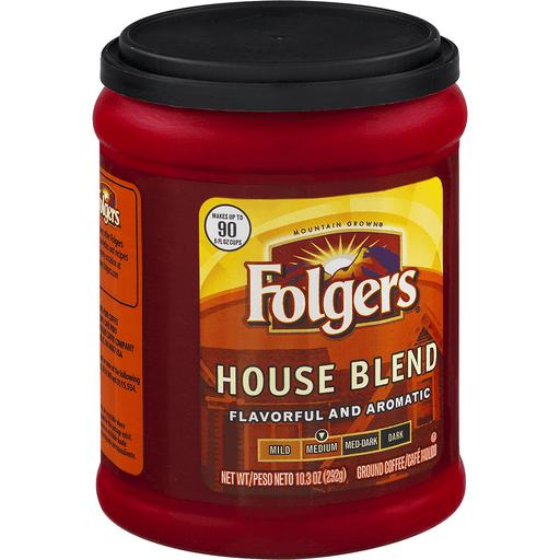 Folgers House Blend Ground Coffee Medium