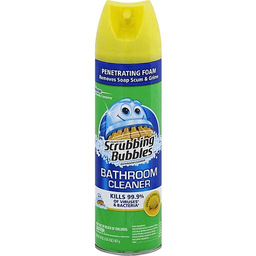 Scrubbing Bubbles Bathroom Cleaner, Disinfectant, Fresh Citrus Scent