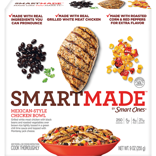 SmartMade Smart Ones Mexican-Style Chicken Bowl