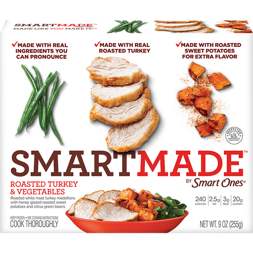 SmartMade Smart Ones Roasted Turkey & Vegetables