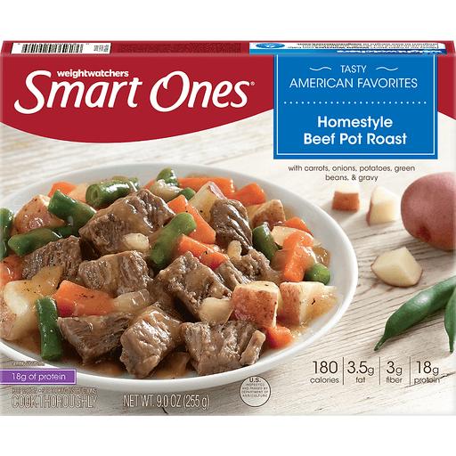Smart Ones Tasty American Favorites Homestyle Beef Pot Roast