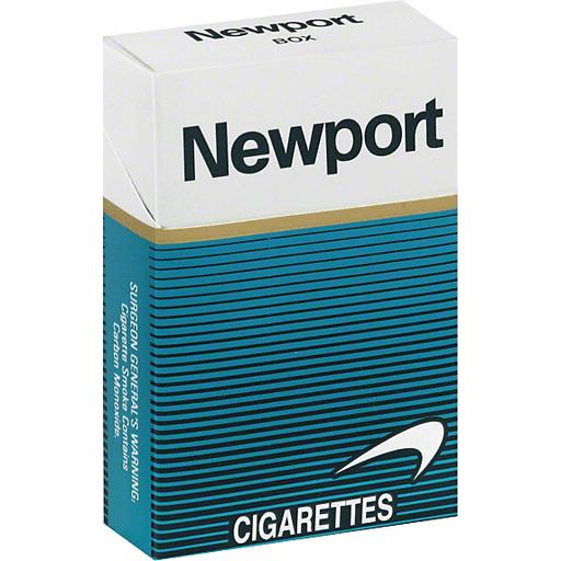 Newport Cigarettes, Box