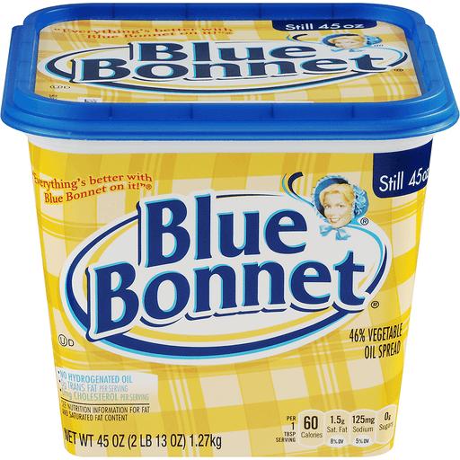 Blue Bonnet Vegetable Oil Spread, 46%