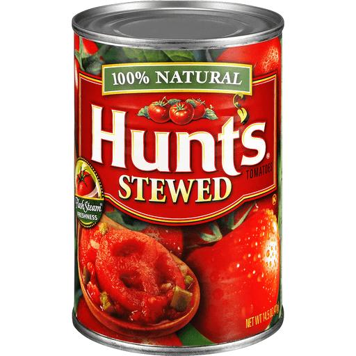 Hunts Tomatoes, Stewed