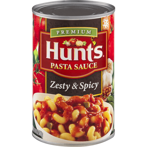 Hunts Pasta Sauce, Zesty & Spicy