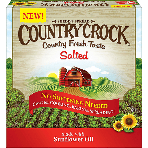 Shedd's Spread Country Crock® Salted Vegetable Oil Spread 16 oz. Box