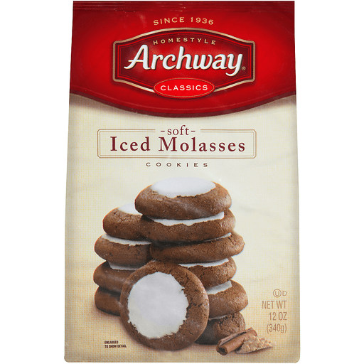 Archway Classics Soft Iced Molasses Cookies