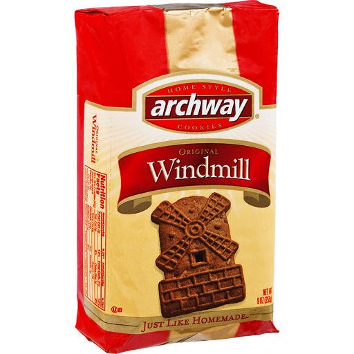 Archway Classics Cookies, Crispy, Windmill