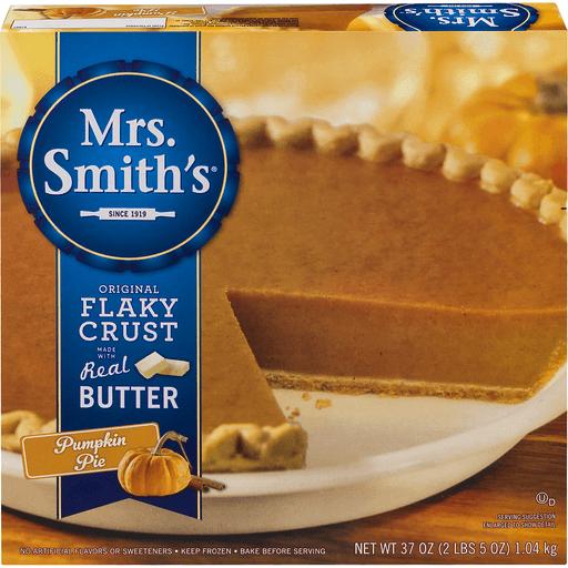 Mrs Smiths Pie, Pumpkin