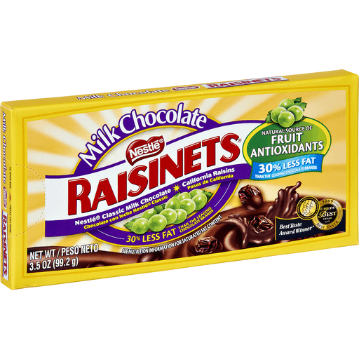 Raisinets California Raisins, Milk Chocolate