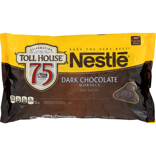 Nestle Toll House Dark Chocolate Morsels 53% Cacao