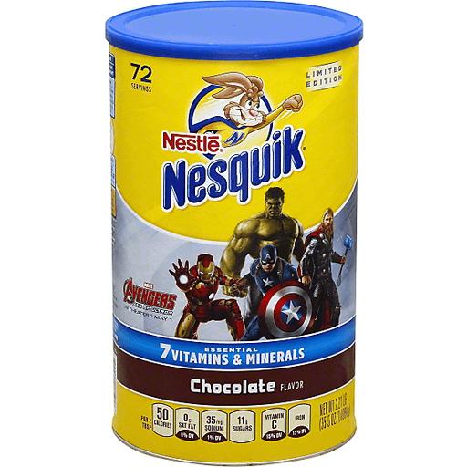 NESQUIK Chocolate Powder 2.21 lb. Canister