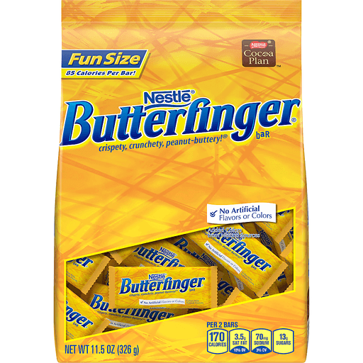 Butterfinger Candy Bars, Fun Size