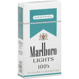 Marlboro Cigarettes Menthol Gold Pack 100 S