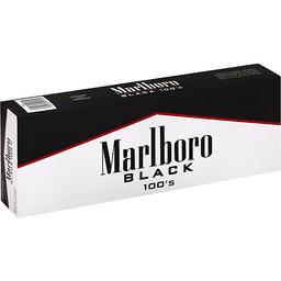 Marlboro Cigarettes Black 100s Flip Top Box Price Cutter Of