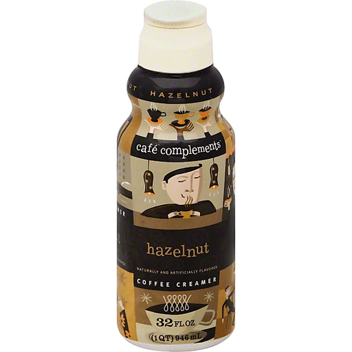 Cafe Complements Coffee Creamer, Hazelnut